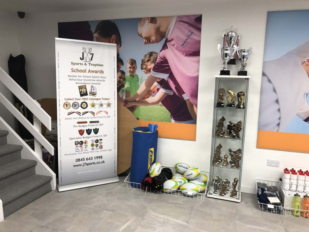 J7 Sports Showroom