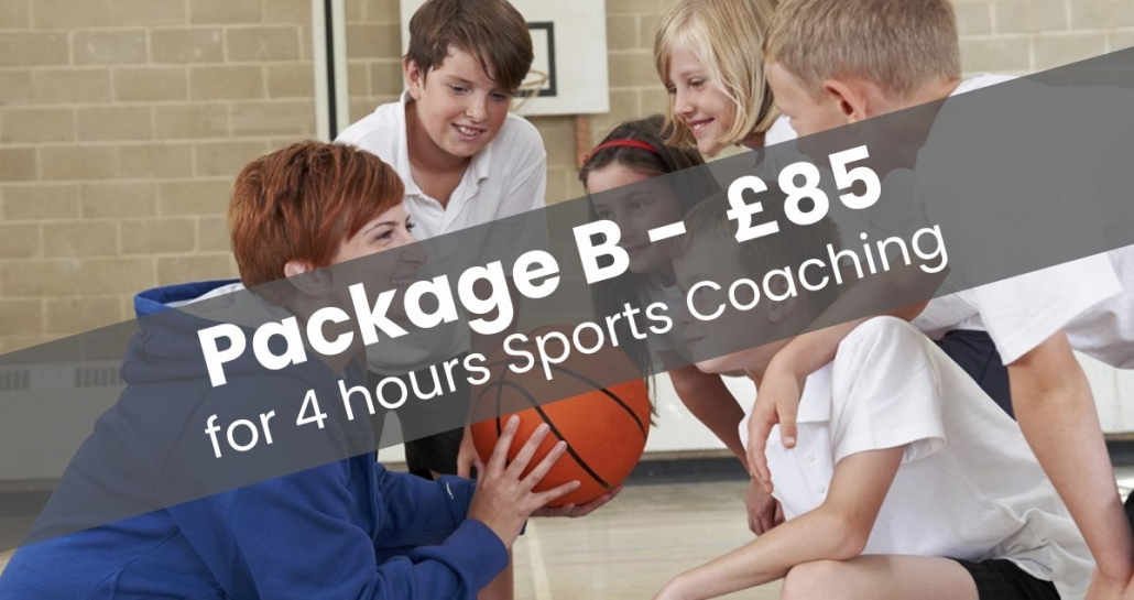 Sports Coaching for Schools Package B