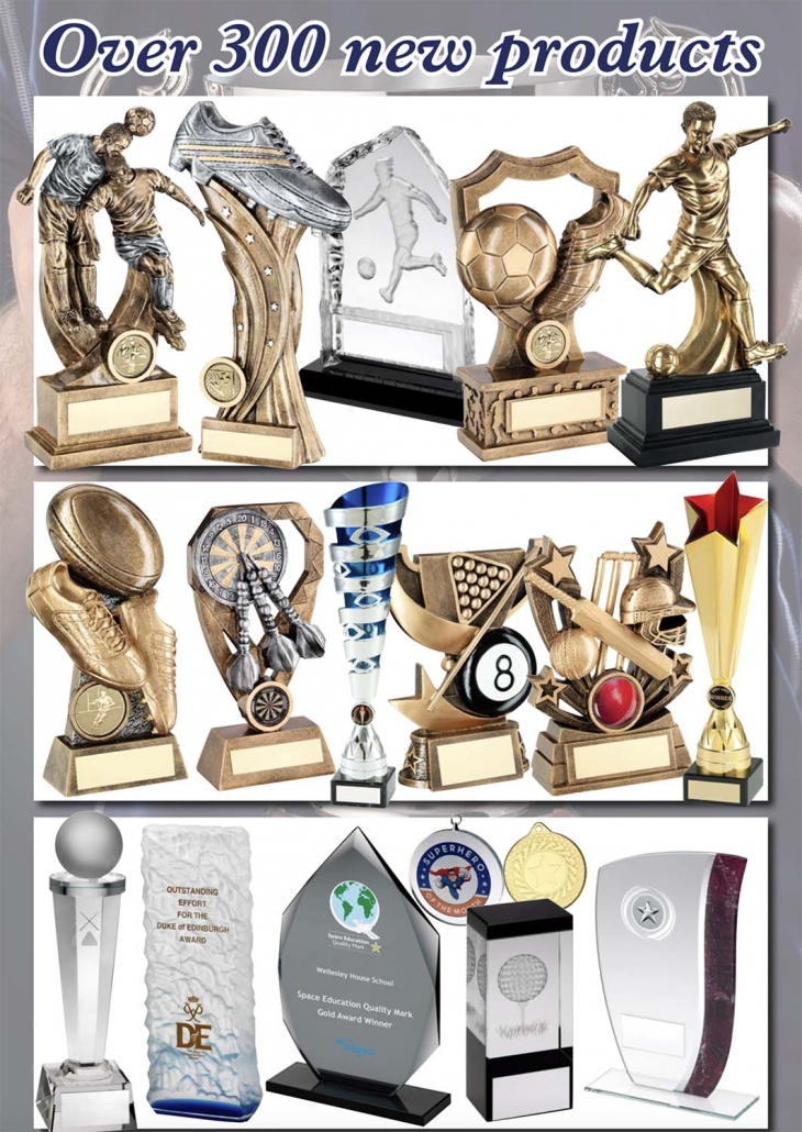300 Sports Trophies and Awards